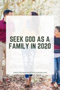 Seek God as a Family in 2020