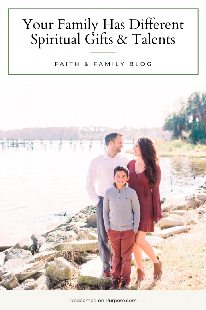 Your Family Has Different Spiritual Gifts & Talents