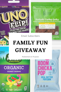 2021 Family Gift Giveaway